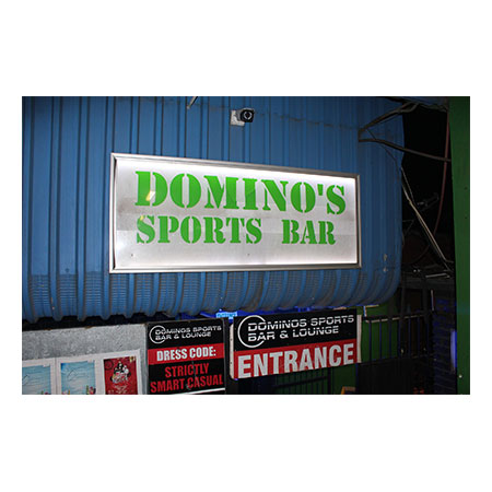 Client Domino's Sports Bar